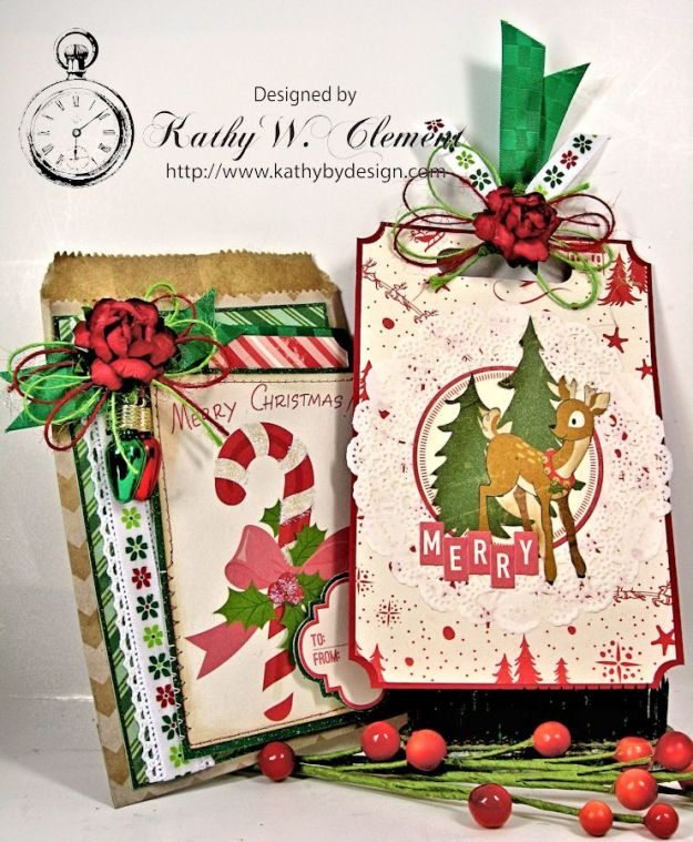 Christmas Gift Card Tags in Bags 04