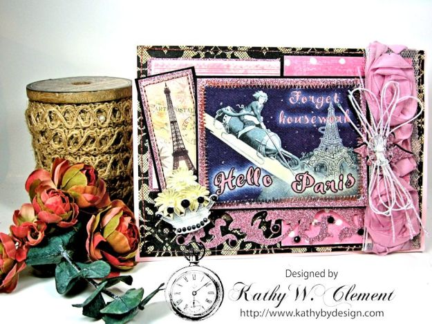 Kathy by Design for Crafty Secrets: Forget Housework