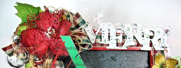Kathy by Design December Countdown Chalkboard for Crafty Secrets 03