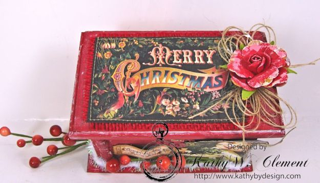 Kathy by Design December Countdown Chalkboard for Crafty Secrets 06