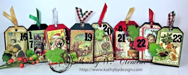 Kathy by Design December Countdown Chalkboard for Crafty Secrets10