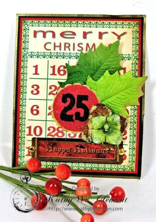 Kathy by Design December Countdown Chalkboard for Crafty Secrets12