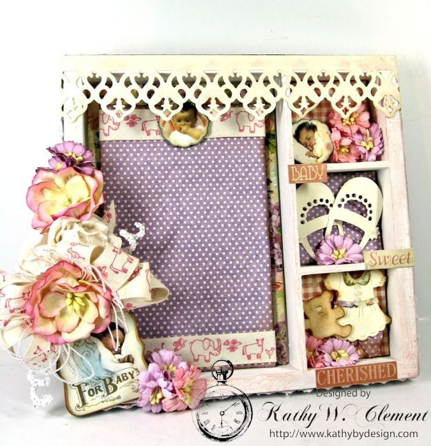 Kathy by Design/Little Darlings Altered Baby Tray 02