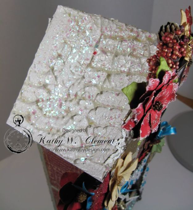 Kathy by Design/Gypsy Soul Lasercutsl Christmas House 10