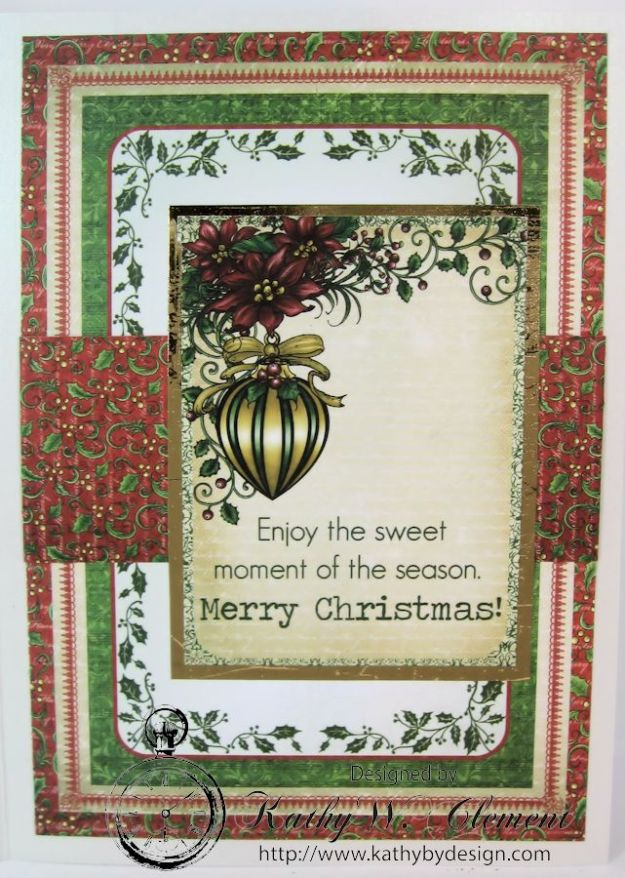 Kathy by Design Warm Wishes Christmas Card for Heartfelt Creations 05