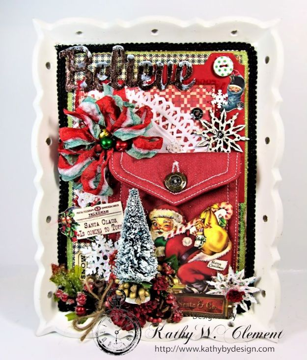 Kathy by DesignInteractive Christmas Frame 01