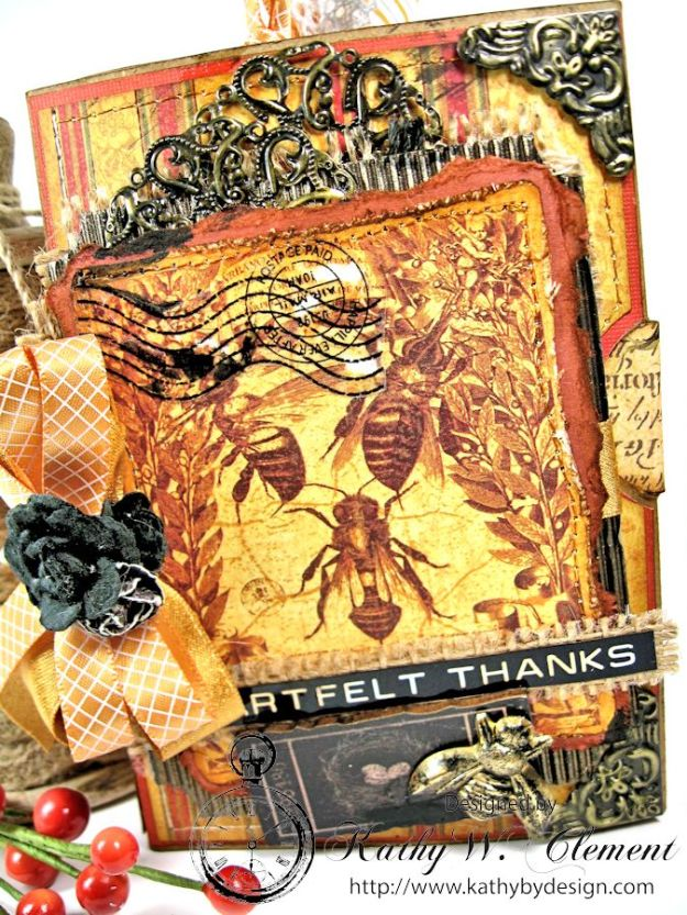 Gorgeous shimmering ribbon the color of honey, and altered metal embellies add a rich feeling to this album.