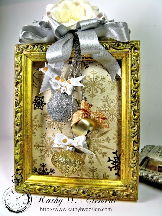 Kathy by Design Altered Holiday Frame