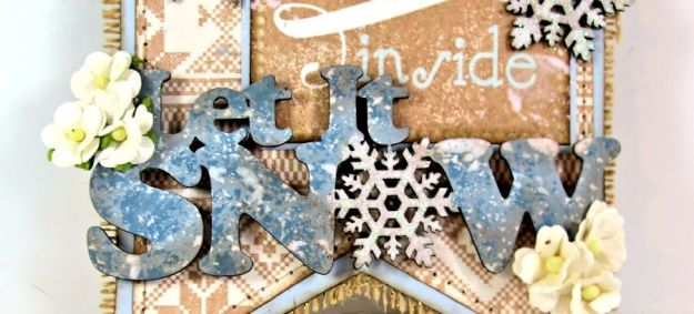 Authentique Cozy Winter Banner for Gypsy Soul Laser Cuts 06