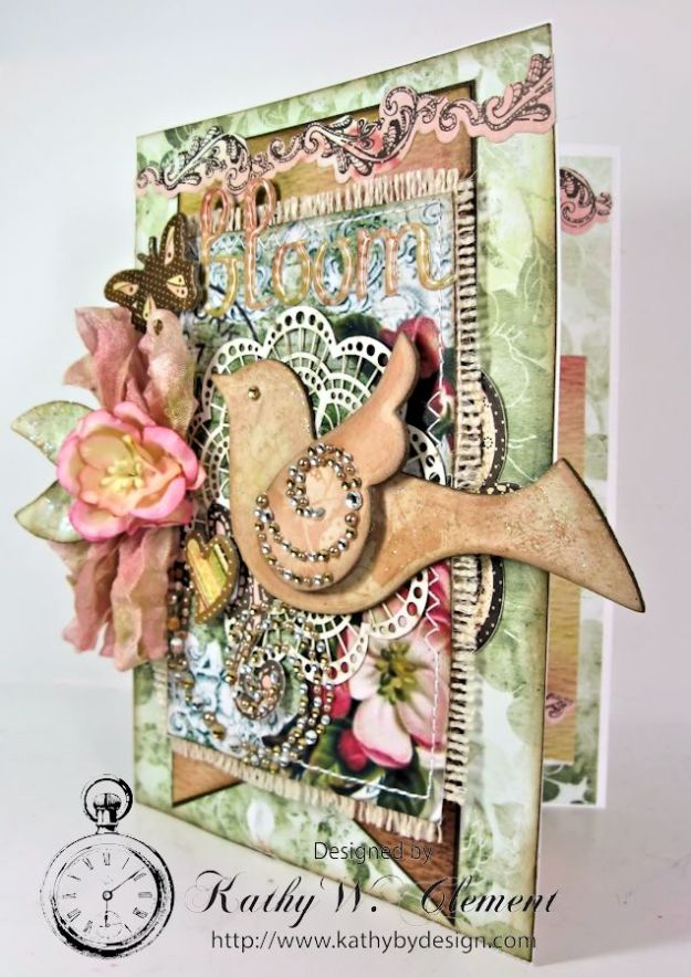 Shabby Chic Bloom Card for RRR 03