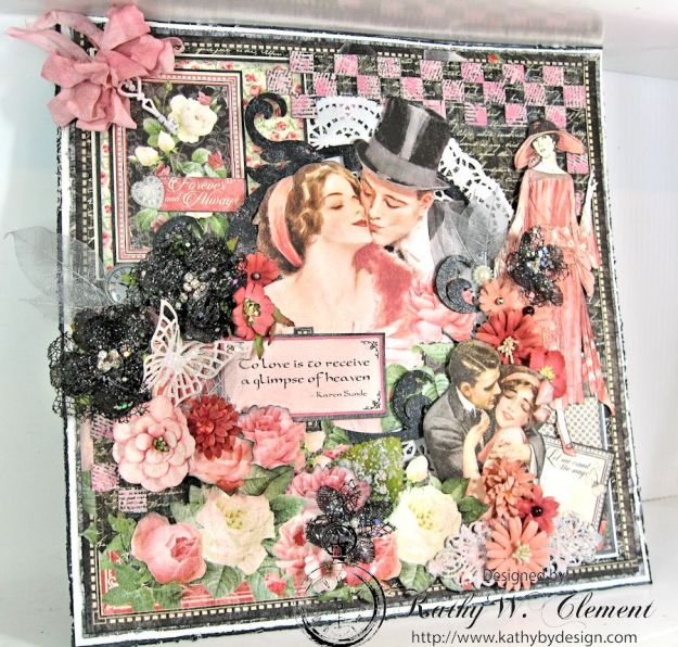 Love is in the air challenge Frilly Funkie 02