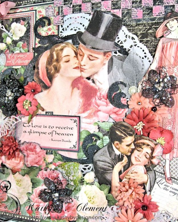 Love is in the air challenge Frilly Funkie 03