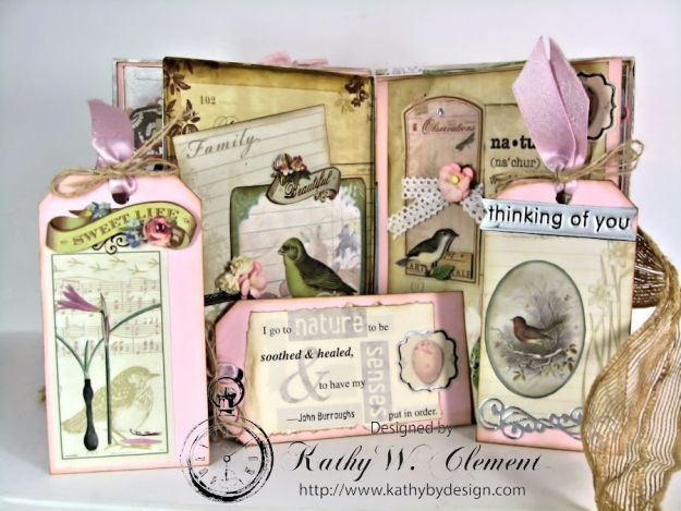 Wander Mini Album for RRR Show me the Pink Challenge 08