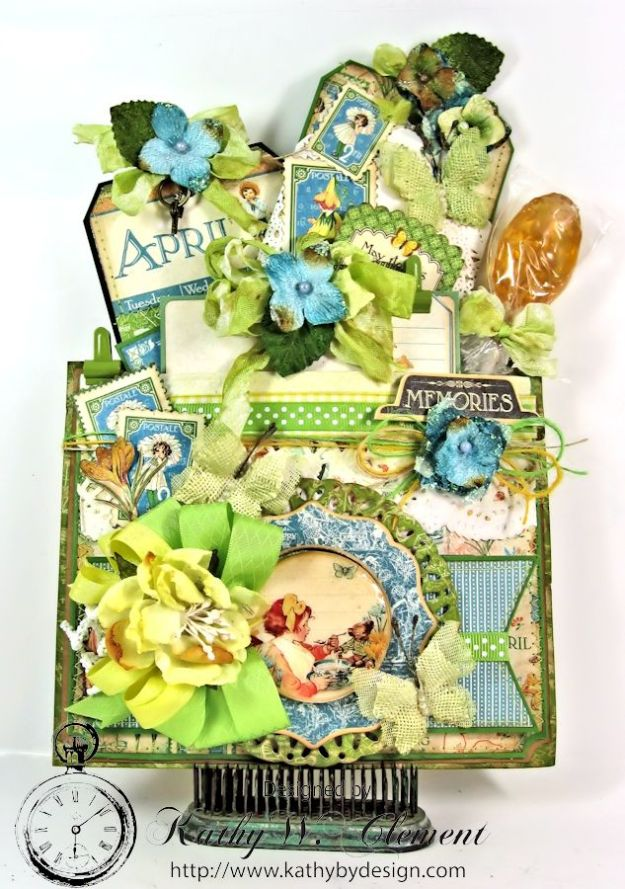 April Showers Pocket for RRR Welcome Spring 01