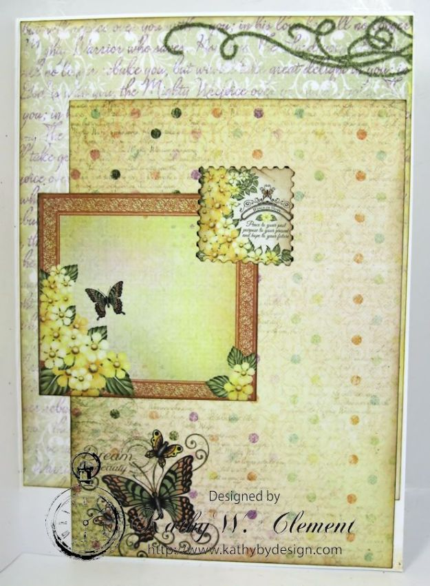 Lemon Yellow Birthday Daisy Card 04