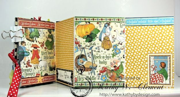Mother Goose Mini Album Tutorial Page 4