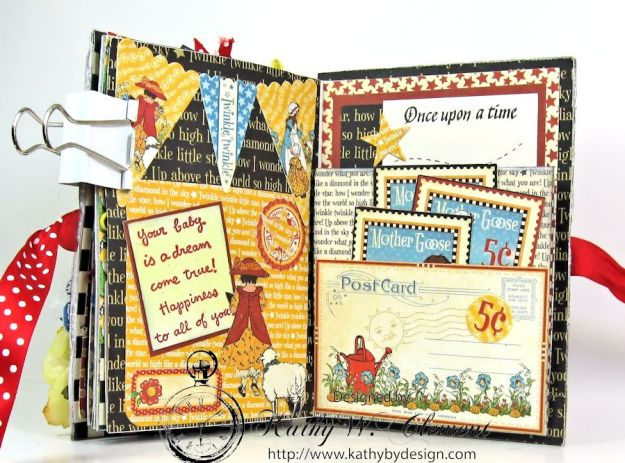 Mother Goose Mini Album Tutorial Page 6