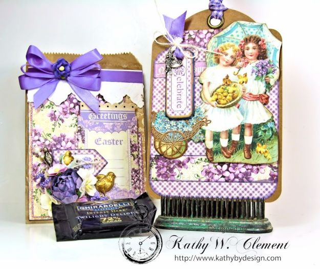 Hey Chickie Easter Treat Bag for RRR 04