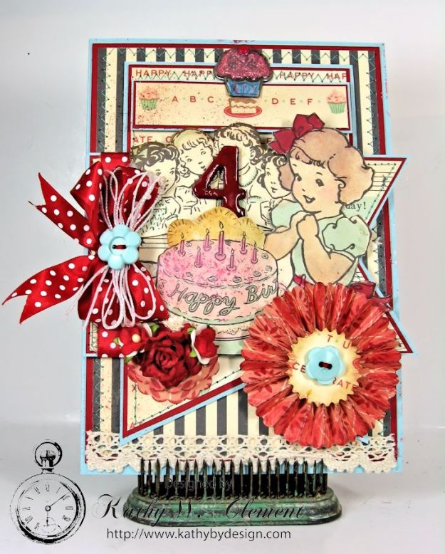 Cakewalk Happy Birthday Card