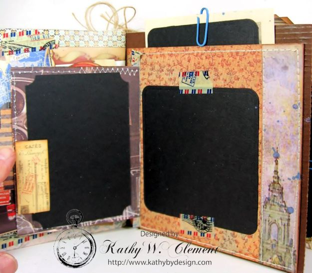 Wanderlust Junque Journal Kathy by Design 06