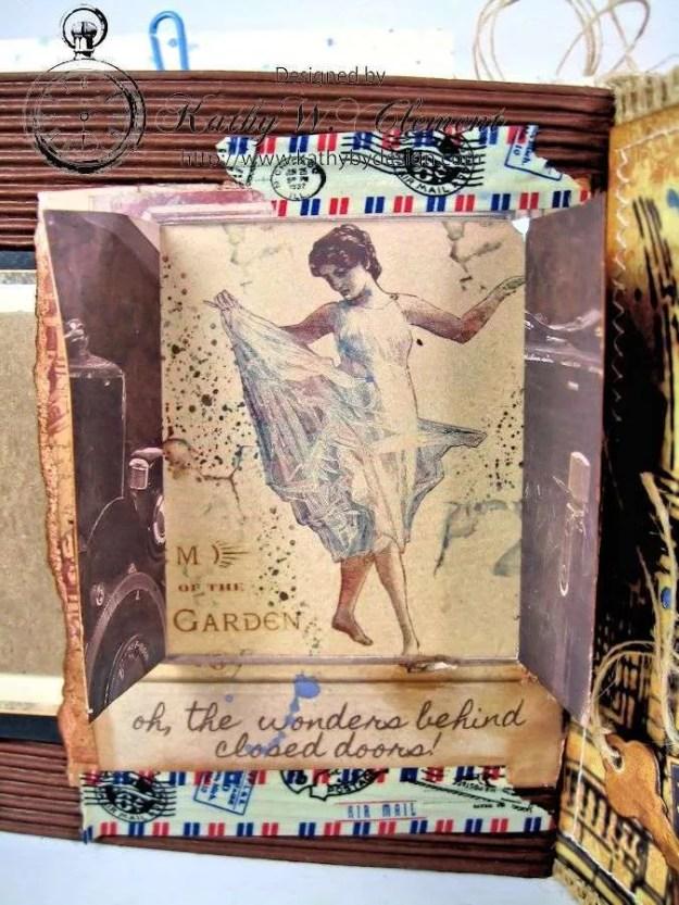 Wanderlust Junque Journal Kathy by Design 08