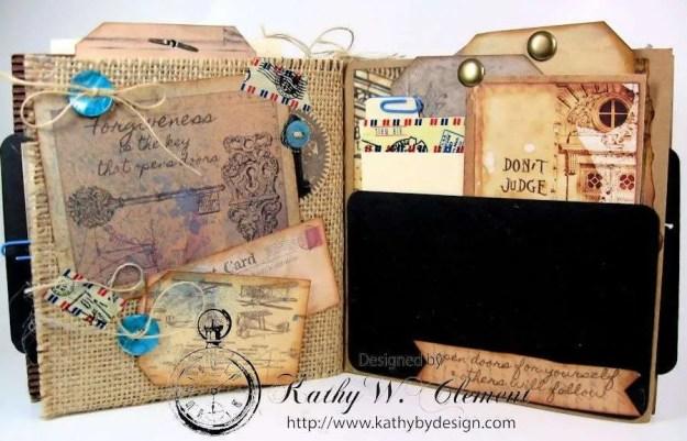 Wanderlust Junque Journal Kathy by Design 09