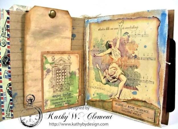 Wanderlust Junque Journal Kathy by Design 10