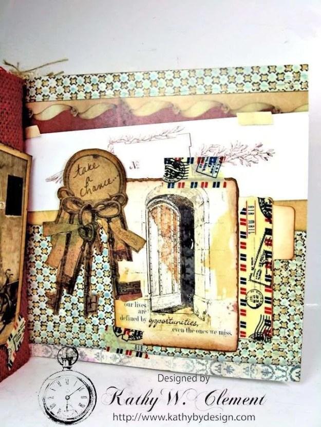 Wanderlust Junque Journal Kathy by Design 14