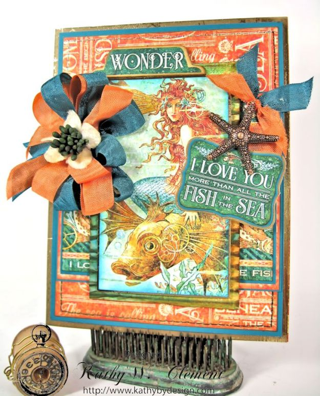 More than all the fish in the sea birthday card Kathy by Design 01