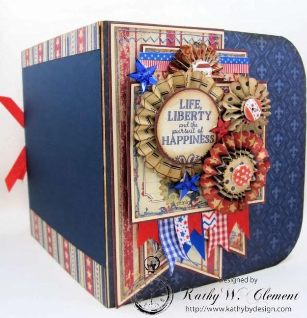 Vintage Patriotic Memorial Day Portfolio