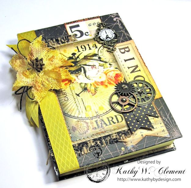 Orange Blossom Honey Gift Ensemble by Kathy Clement for Really Reasonable Ribbon Bees Knees Creativity Kit  from Polly's Paper Studio Etsy 10