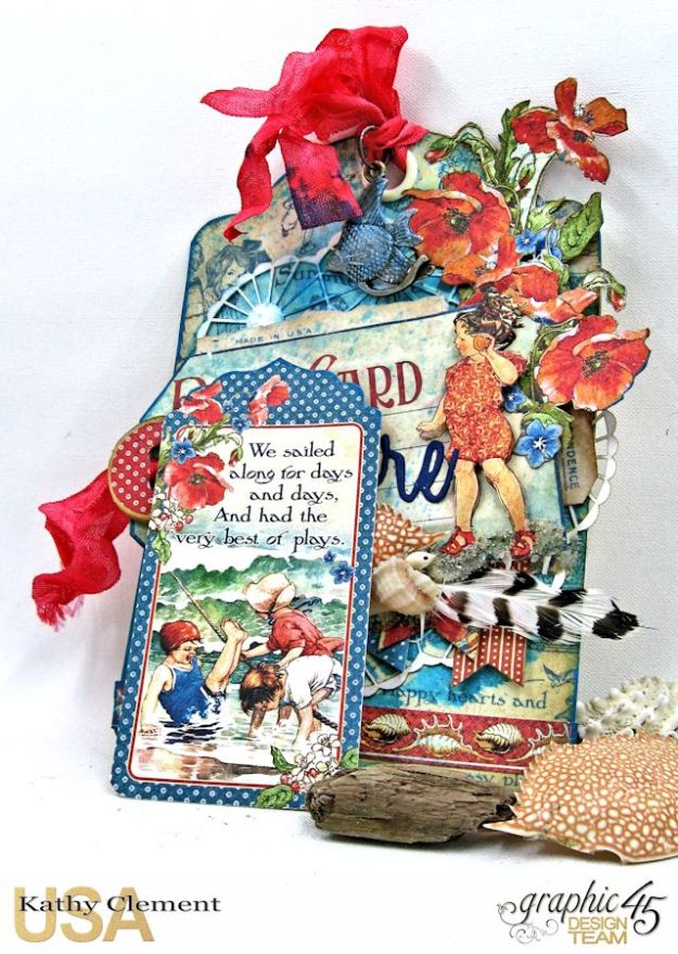By the Sea Tag, Children's Hour, by Kathy Clement, Product by Graphic 45 Photo 8 jpg