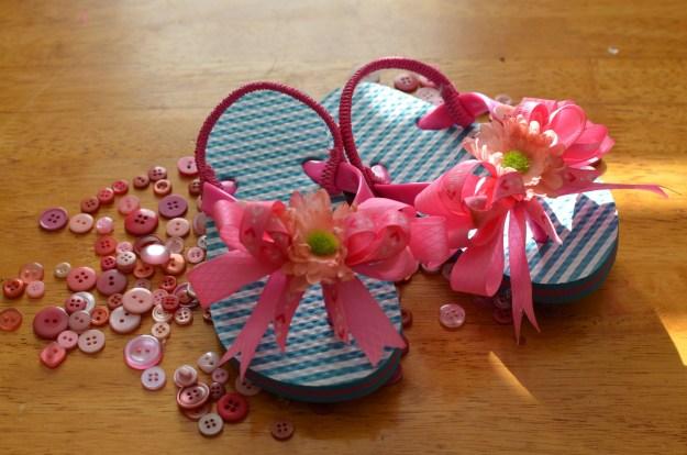 Gramps bday flip flops 015