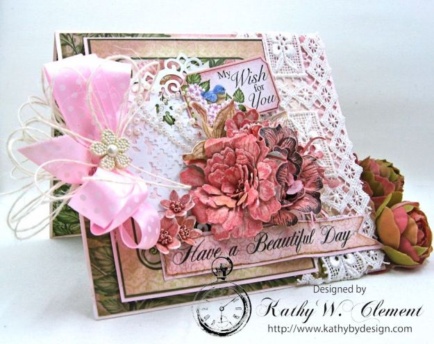 Happy Birthday Emma Lou Birds and Blooms by Kathy Clement Product by Heartfelt Creations Photo 1