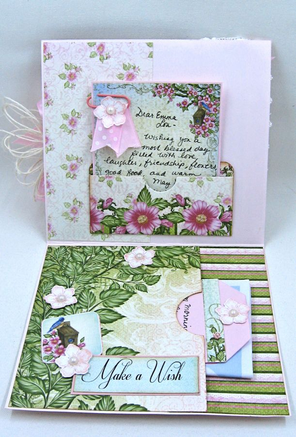 Happy Birthday Emma Lou Birds and Blooms by Kathy Clement Product by Heartfelt Creations Photo 3 jpg