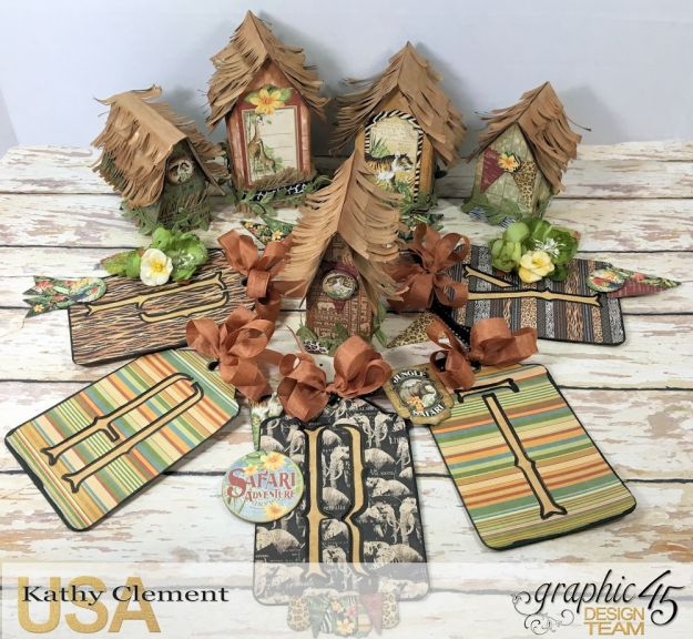 Zoo Party Ensemble, Safari Adventure by Kathy Clement, Product by Graphic 45 Photo 2