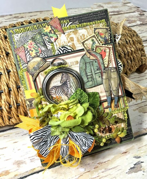 Zoo Party Ensemble, Safari Adventure by Kathy Clement, Product by Graphic 45 Photo 21