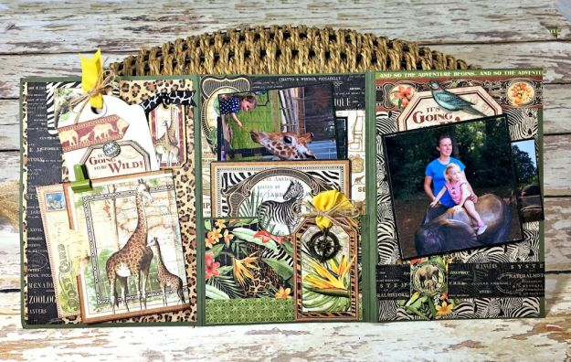 Zoo Party Ensemble, Safari Adventure by Kathy Clement, Product by Graphic 45 Photo 37