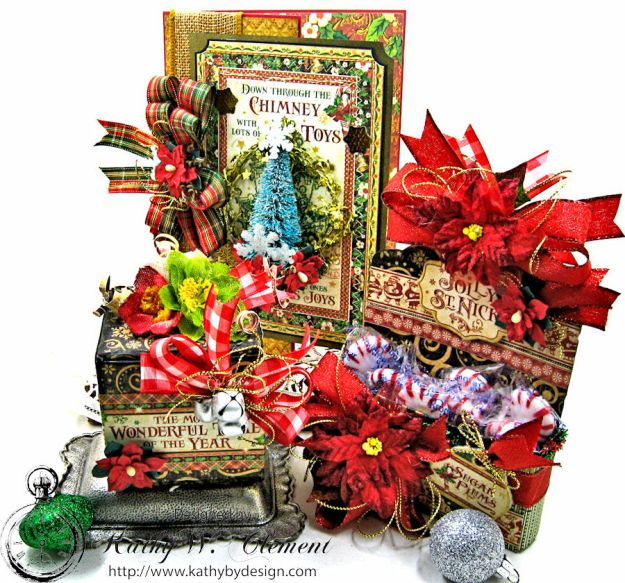 sSweet Holiday Treats for the Petaloo/Graphic 45 Blog Hop by Kathy Clement
