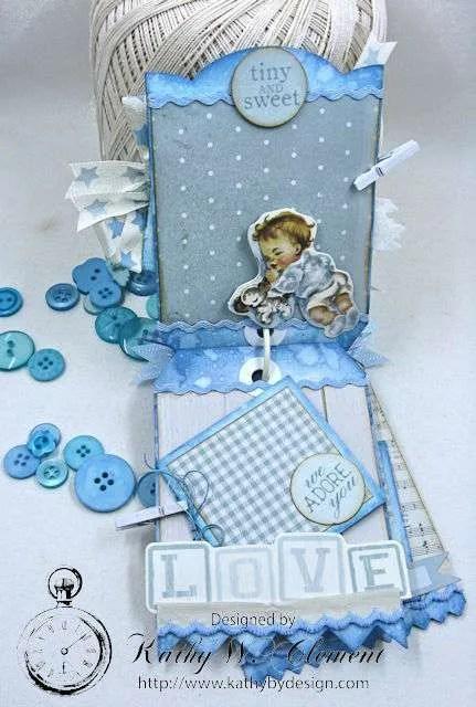 Peek A Boo Baby Boy Shortie Tag Album Kathy By Design