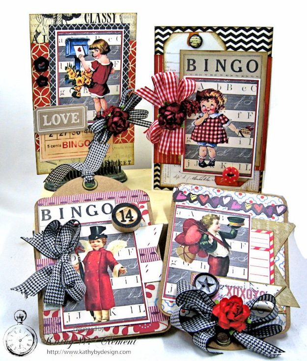 Schoolhouse Vintage Valentine Cards and Tags  by Kathy Clement Photo 5