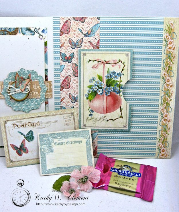 Spring Has Sprung Easter Shaker card by Kathy Clement Photo 6