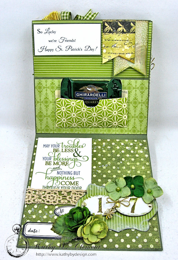 St. Patrick's Day Easel Card by Kathy Clement for Petaloo International Photo 7