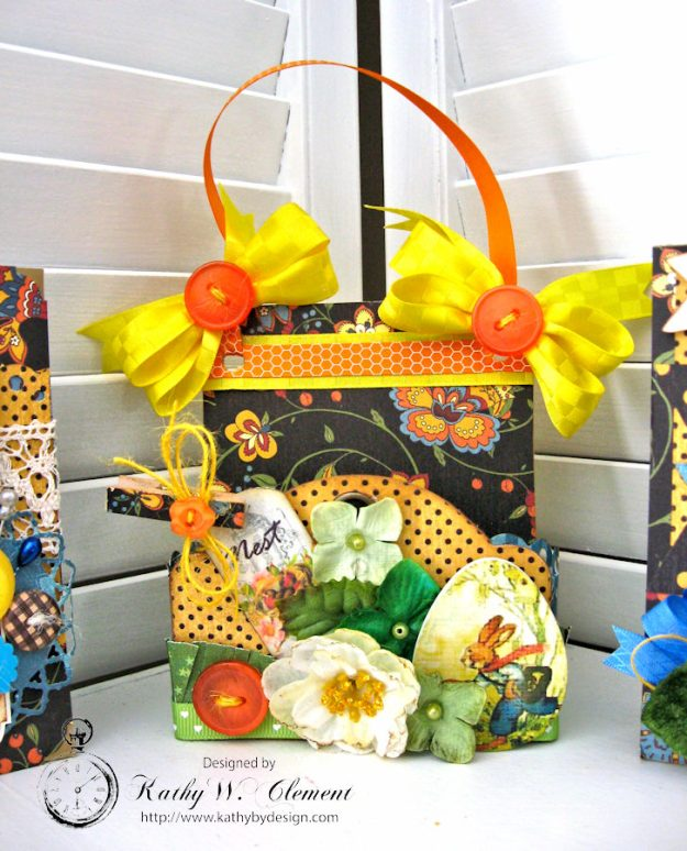 Super Sweet Easter Treat Basket by Kathy Clement for Really Reasonable Ribbon Photo 3