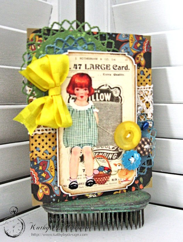 Super Sweet Easter Treat Basket by Kathy Clement for Really Reasonable Ribbon Photo 6