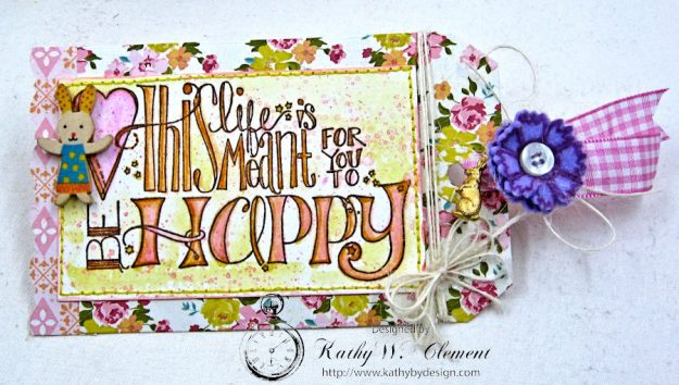 Happy Little Easter Tag Pockets by Kathy Clement for Tammy Tutterow Designs Photo 10