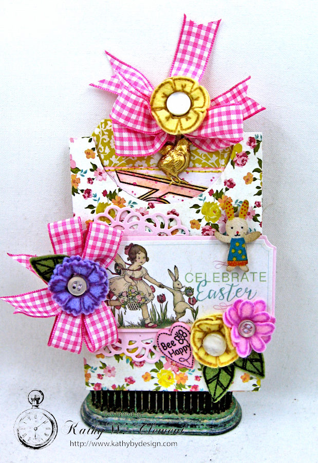Happy Little Easter Tag Pockets by Kathy Clement for Tammy Tutterow Designs Photo 2