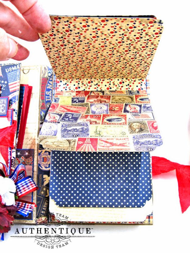 Authentique Heroic Patriotic Folio Heroic by Kathy Clement Product by Authentique Photo 13
