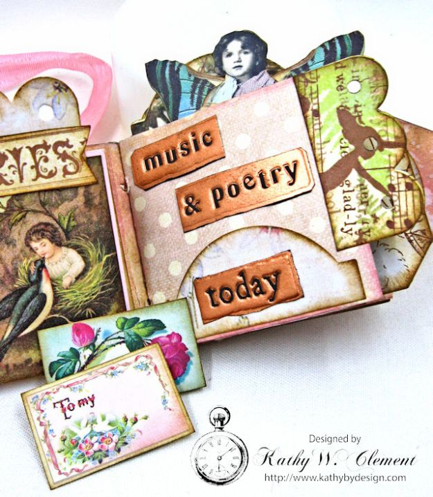 Fairy Happy Birthday Wishes Gift Card Wallet by Kathy Clement Photo 9