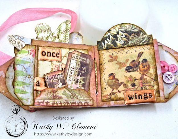 Fairy Happy Birthday Wishes Gift Card Wallet by Kathy Clement Photo 11